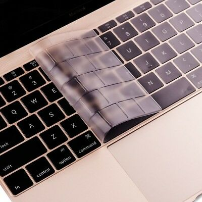 TECH ENKAY TPU Keyboard Protector Cover for MacBook 12 Inch (2015) without Touc