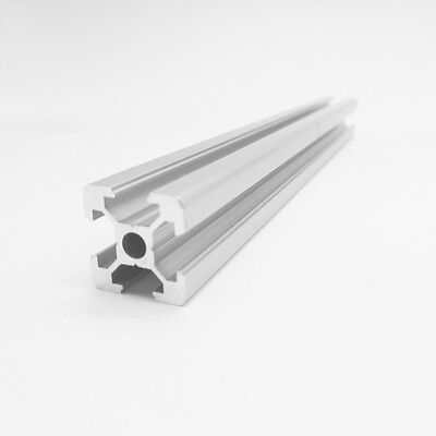 4PCS 20x20 600mm European Standard Linear Rail Aluminum Profile Extrusion