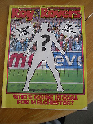 Roy Of The Rovers Comic Magazine 12 November 1988 Football Interest Vgc