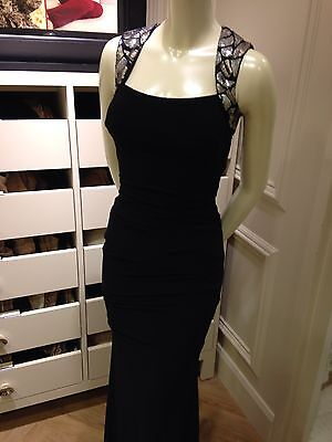 """Cache"""" Collection Black Evening Gown Size 0, NWT"""