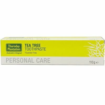 Thursday Plantation 110G Tea Tree Toothpaste Fluoride Free