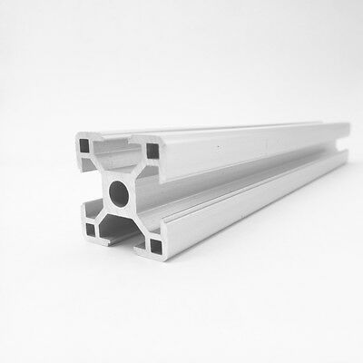 Aluminum T-slot extruded framing profile 30x30 Metric Series Length Choose