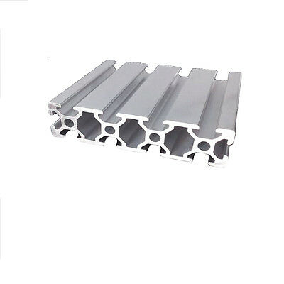 Aluminum T-slot extruded framing profile 20x80 Metric Series Length Choose