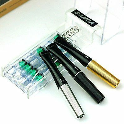 Women Men Cigarette Filter Holder with Spare Filter Cartridges Core SD20 Gift