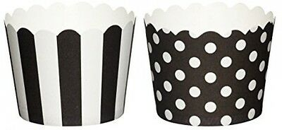 Sweetly Does It Pack Of 20 Patterned Paper Baking Cups