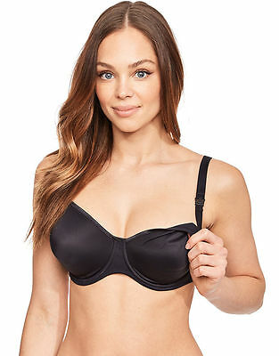 Anita Maternity Smooth Flexi Under Wire Nursing Bra Black White All Sizes Rp £40