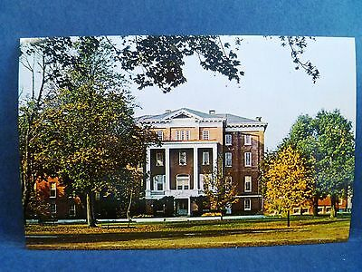 Postcard DE Dover Wesley College Old Main