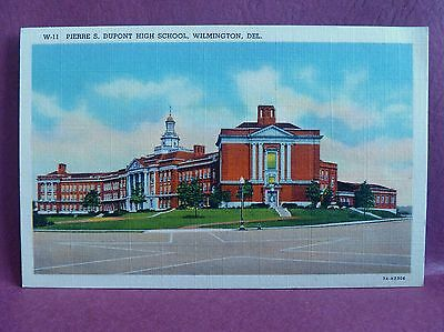 Old Postcard High School Wilmington, DE