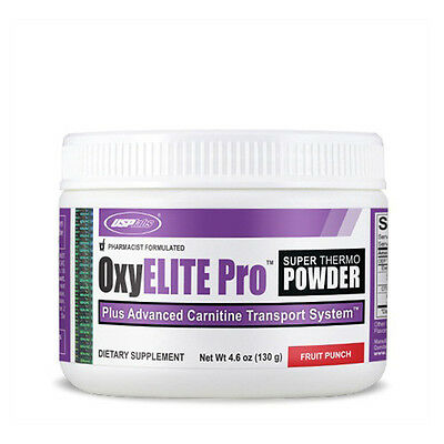 USP labs OxyELITE Super Thermo Powder 130g/60 Servs - FREE P&P!