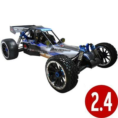 NEW Rampage Rtr Dune Runner V3 4X4 1/5 Scale Gas Buggy Black/Blue Buggy
