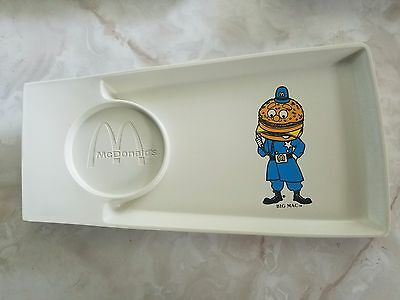 Vintage 1970s Big MAC McDonald's Plastic Toy Tray Plate With Cupholder