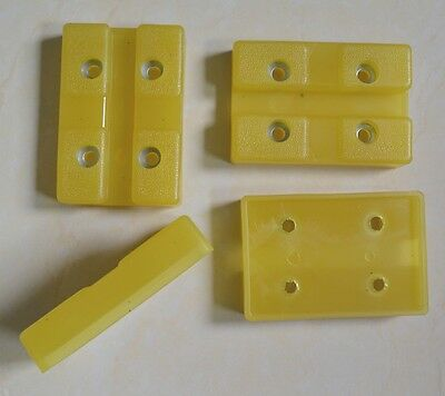 Heavy Duty Rubber Arm Pads Challenger Lift Feet Set of 4
