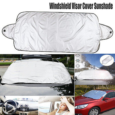 Car Windshield Cover Front Window Windscreen Visor Snow Dust Protector Sun Shade