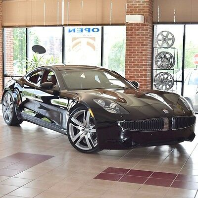 2012 Fisker Karma EcoSport BRAND NEW! 1500 Miles! Eclipse with Canyon Tri-Tone Interior! Collector Owned!
