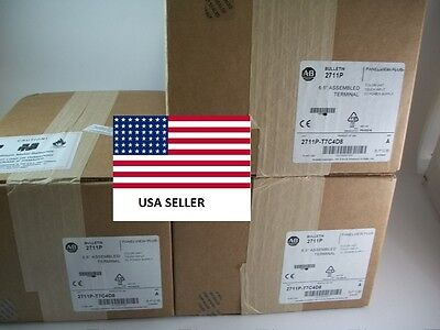 *Ships Today* New Allen Bradley 2711P-T7C4D8  Panelview Plus *NEW 2016*