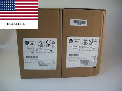 *Ships Today* 2017 Allen Bradley 25B-D010N114 Power Flex 525 Drive Filtered 5HP