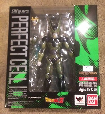 Figuarts SHF Complete Perfect Cell figure Dragonball Z DBZ toy