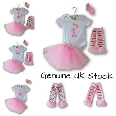 Baby Girl Tutu Outfit Set 1st Birthday Princess Party Dress Costume Gift