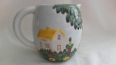 COTTAGE GARDEN LARGE JUG By Shorter - Made in England