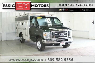 2008 Ford E-Series Van -- Used 08 Ford E-350SD Econoline Rockport Service Body Ladder 5.4L V-8 Low Miles