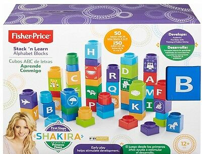 Fisher-Price First Steps Stack'n Learn Alphabet Blocks