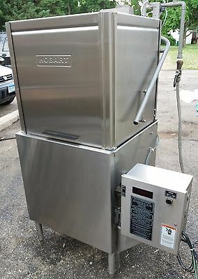 Hobart AM-14 Dishwasher with Booster Heater, Tested, Pass-Through Dish Machine