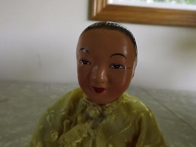 Vintage Asian Composition Doll