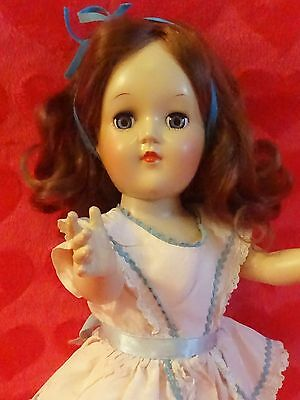 JUST LOVELY! Vintage 1950 TONI Doll. ALL ORIGINAL By Ideal