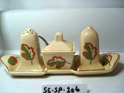 crown ducal  salt and pepper shakers