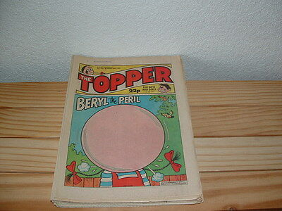 20 Topper Comics 1986/7 Consecutive Issues 1751-1770