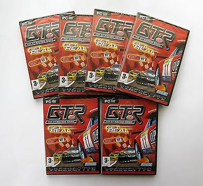 6 x G.T.R Racing Game PC Games Wholesale Lot **New & Sealed - Clearance Stock**