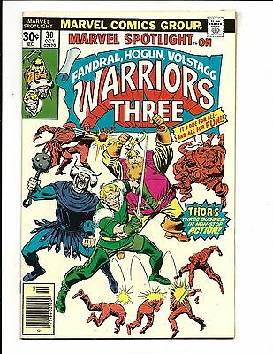 Marvel Spotlight # 30 (Warriors Three, Oct 1976), Nm-