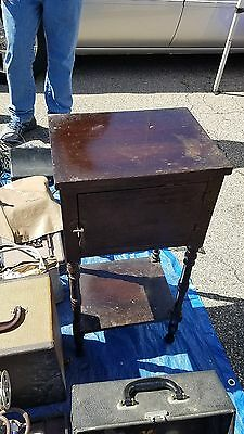 antique smoker table