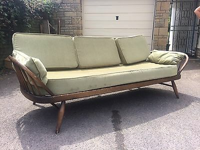 1950's Ercol Studio Couch/sofa Day Bed