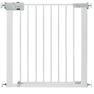 Safety 1st Secure Tech Simply Close White Metal Gate *BRAND NEW*