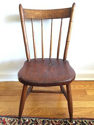 18th C HUDSON RIVER VALLEY WINDSOR SIDE CHAIR Child's