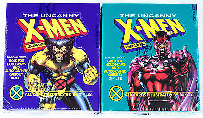 Lot of (2) 1992 Impel Marvel Uncanny X-Men factory Sealed Trading Card Boxes Lee