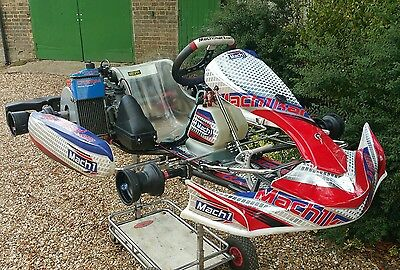 Mach1 Kart  Rolling chassis 2016 with Rotax Senior Engine. Not Tonykart