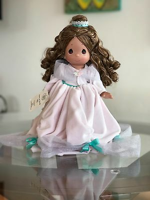 """Precious Moments Linda Rick doll """"Pretty as can be Belle"""" Easter Edition Disney"""