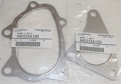 Subaru Forester WRX STi Turbo downpipe & Up-Pipe Exhaust Gaskets 1998-2014 OEM