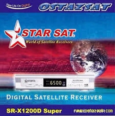 STAR SAT SR-X1200D Digital Satellite Receiver
