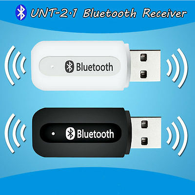 USB Bluetooth Music Receiver Stereo Audio Adapter Wireless 3 5mm Speaker Car Aux