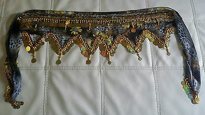Hand Made Belly Dance Dancing Costume Hip Skirt Scarf Wrap