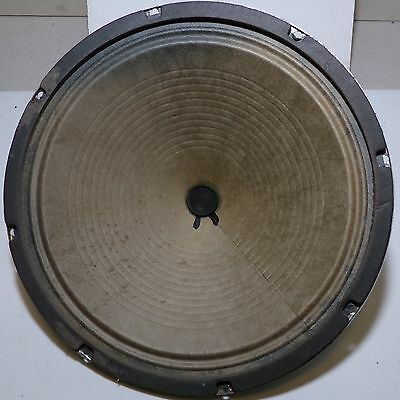 """Speaker Marsland GV1215 Vintage Guitar 12"""" inches 8 ohms late 1960s NICE TESTED!"""