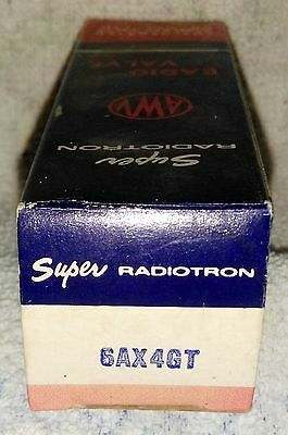 NOS  6AX4GT vacuum tube radio TV valve, TESTED