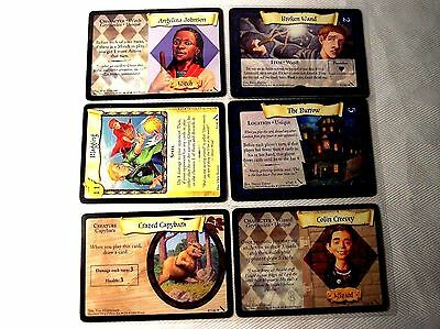 H Potter - CHAMBER of SECRETS COMPLETE CARD Set - CCG - NEW -  in card sleeves