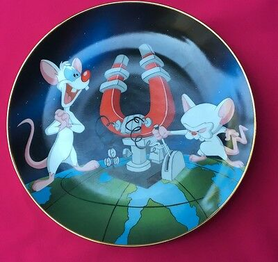 Animaniacs Pinky and The Brain Collector Plate