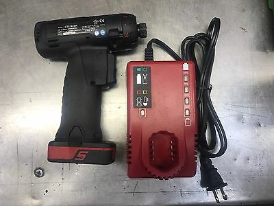 Snap-On CTS761BK 1/4 hex Cordless impact driver power tools 14.4v Battery