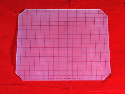 Deardorff 8x10 ground glass For B&J WISNER LINHOF TOYO SINA Camera Photograph