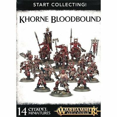 Warhammer Age of Sigmar: Start Collecting! Khorne Bloodbound GWS 70-82